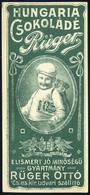 SZÁMOLÓ CÉDULA 1910-20. Cca. Régi Reklám Grafika , Hungária Csokoládé  /  Vintage Adv. Graphics BAR TAB Ca 1910-20 Hungá - Alte Papiere