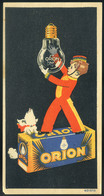 SZÁMOLÓ CÉDULA 1910-20. Cca. Orion  /  Vintage Adv. Graphics BAR TAB Ca 1910-20 - Alte Papiere