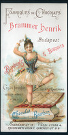 SZÁMOLÓ CÉDULA 1910-20. Cca. Brammer Henrik Csokoládé Gyár  /  Vintage Adv. Graphics BAR TAB Ca 1910-20 Chocolate Factor - Alte Papiere