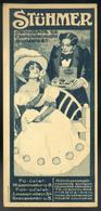 SZÁMOLÓ CÉDULA 1910-20. Cca. Stühmer Csokoládé  /  Vintage Adv. Graphics BAR TAB Ca 1910-20 Chocolate - Alte Papiere