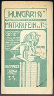 SZÁMOLÓ CÉDULA , Régi Reklám Grafika , Mátrai , Feik  /  Vintage Adv. Graphics BAR TAB, Mátrai, Feik - Alte Papiere