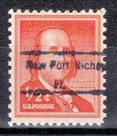 USA Precancel Vorausentwertung Preo, Locals Florida, New Port Richey 848 (c17,5) - Vereinigte Staaten