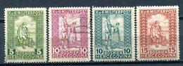 BOSNIE-HERZEGOVINE - Y&T 93, 94, 95*, 96* (série Complète) - Bosnie-Herzegovine