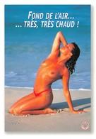 """PIN-UPS // FUNNY NUDE // NU HUMORISTIQUE // """"FOND DE L'AIR.....TRÈS, TRÈS CHAUD ! """" EDITIONS COMBIER - Pin-Ups"""