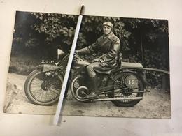 MOTOCYCLISME - CARTE PHOTO - MOTO-CLUB CORBEIL-ESSONES - Corbeil Essonnes