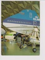 Rppc KLM K.L.M Royal Dutch Airlines Boeing 747, Transavia Aircraft @ Aviodome - 1919-1938