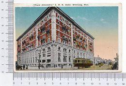 Royal Alexandra C. P. R. Hotel Winnipeg Man 1920 Cromolithographic Chromolithograph - Winnipeg