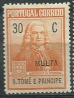 Saint Thomas Et Prince  Taxe Yvert N° 52 *  -  Po60407 - St. Thomas & Prince