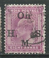 Inde  Anglaise  - Service   Yvert N°45 Oblitéré-  Po60434 - 1902-11 King Edward VII