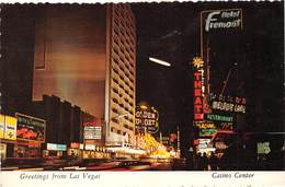 Etats-Unis - Nevada - Greetings From Las Vegas - Fremont Street - Casino Center - Timbres - Las Vegas