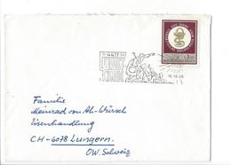 21559 - Christkindl 1968 Lettre Pour Lungern 18.12.1968 - Noël
