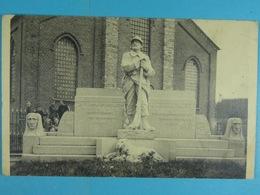 Kemseke Standbeeld Der Oorlogsgesneuvelden 1914-18 - Stekene