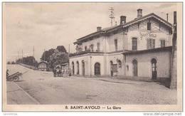57 - SAINT AVOLD / LA GARE - Saint-Avold