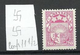 LETTLAND Latvia 1927 Michel 121 * - Letland