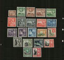 MALTA - KGVI - 1938-1943 – DEFS - 21 Stamps – MM - Malta