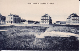 CPA 85 -- LUCON -- L'intérieur Du Quartier - Lucon
