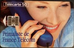 Telefonkarte Frankreich - Werbung - Frau -  50 Units - 11/95 - 1995