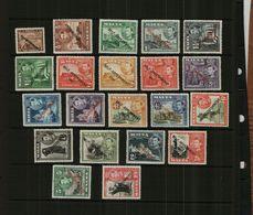 MALTA – KGVI - 1948-1953 – SELF-RULE O/P - 21 Stamps – MM - Malta
