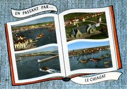 CPSM  En Avion Au-dessus De...LECHIAGAT- Multi-vues - France