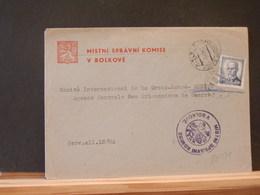 83/589 LETTRE  POUR LA SUISSE 1946 - Cartas