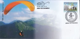 India  2018  Paragliding  Table Tennis Cancellation  Dharamsala  Special Cover   # 17464  D  Inde Indien - Jumping
