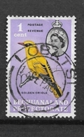 BECHUANALAND   1961 Birds And Local Motifs  USED  African Golden Oriole · Oriolus Auratus - 1885-1964 Protectorado De Bechuanaland