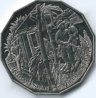 Australia - Elizabeth II - 2016 - 50 Cents - Australians At War - Indonesia - Monnaie Décimale (1966-...)