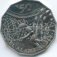 Australia - Elizabeth II - 2015 - 50 Cents - El Alamein - Monnaie Décimale (1966-...)