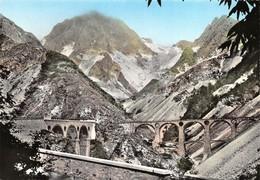 Cartolina Carrara Cave I Viadotti Di Vara Ed. SAF - Massa