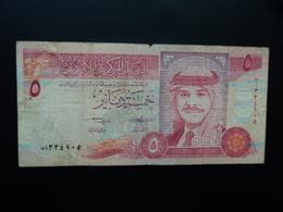 JORDANIE : 5 DINARS   1412 - 1992   P 25a    B+ - Jordanien