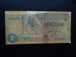 LIBYE : 1 DINAR   ND 1988   P 54     TB - Libya