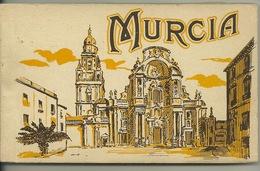 MURCIA / TRES BEAU CARNET COMPLET De 20 CARTES POSTALES ANCIENNES - Murcia