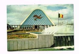 Exposition Universelle De Bruxelles.1958.Façade Principale Des Grands Palais. - Universal Exhibitions