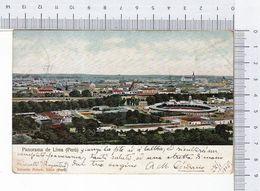 Panorama De Lima 1905 Peru Perù Chromolithograph Cromolitógrafo Cromolitográfico Eduardo Polack - Perù