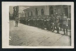 POLA - PULA VIA DELL'ARSENALE???????? - MILITARI - 1925 FOTO CARTOLINA DA IDENTIFICARE - Militari
