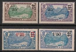 Océanie - 1924-27 - N°Yv. 61 à 64 - Série Complète - Neuf Luxe ** / MNH / Postfrisch - Océanie (Établissement De L') (1892-1958)