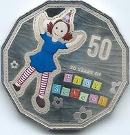 Australia - Elizabeth II - 2016 - 50 Cents - 50 Years Of Play School - Jemima - Monnaie Décimale (1966-...)