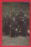 Dilingen -  Carte Photo  -  Soldats Allemands  -  Cachet Dilingen  29/1/1915 - Kreis Saarlouis
