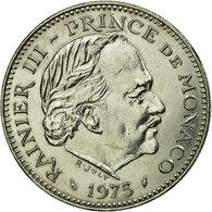 Monnaie, Monaco, Rainier III, 5 Francs, 1975, TTB, Copper-nickel, Gadoury:MC - Monaco