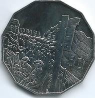 Australia - Elizabeth II - 2016 - 50 Cents - Australians At War - Fromelles - Monnaie Décimale (1966-...)