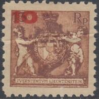 Liechtenstein 0061b ** MNH. 1924. Dent 9 1/2 - Liechtenstein