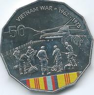 Australia - Elizabeth II - 2016 - 50 Cents - Australians At War - Vietnam War - Monnaie Décimale (1966-...)