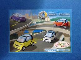 AUTO SMART FORTWO TT089 CARTINA KINDER FERRERO - Notices