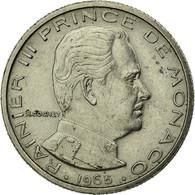 Monnaie, Monaco, Rainier III, 1/2 Franc, 1965, TTB, Nickel, Gadoury:MC 149 - Monaco