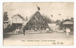 Arlon Exposition Agricole La Hutte Des Sabotiers Carte Postale Ancienne - Arlon