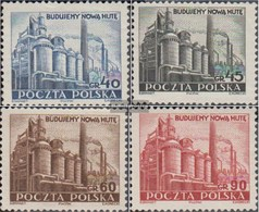 Poland 690-693 (complete Issue) Unmounted Mint / Never Hinged 1951 Heavy Industry - Unused Stamps