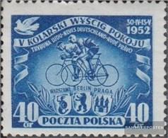 Polonia 735 (completa Edizione) MNH 1952 Ciclismo - 1944-.... Republik