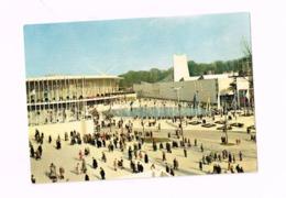 Exposition Universelle De Bruxelles.1958.Les Pavillons Des Etats-Unis Et Du Saint-Siège. - Universal Exhibitions