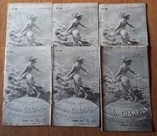Bulletins Theodore Champion 1930 - Sonstige Bücher