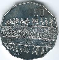 Australia - Elizabeth II - 2017 - 50 Cents - Australians At War - Passchendaele - Monnaie Décimale (1966-...)